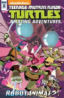 Teenage Mutant Ninja Turtles Amazing Adventures: Robotanimals #2 (of 3) - Cover A